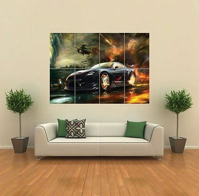 Nissan Gtr Car New Giant Large Art Print Poster Picture Wall G937