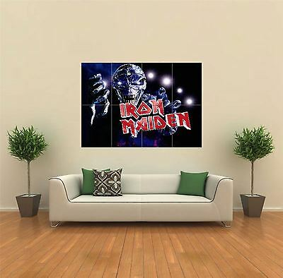 Iron Maiden Heavy Metal Rock Band New Giant Art Print Poster Picture Wall G063