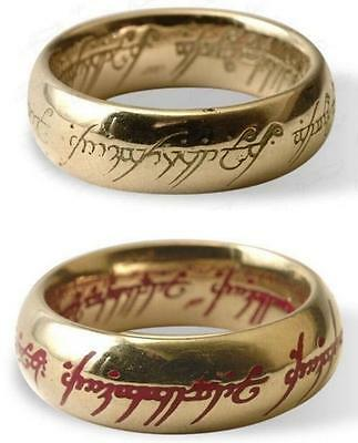 The ONE RING OF POWER Official + CERTIFICATE + BAG Hobbit FRODO LOTR Lord Rings