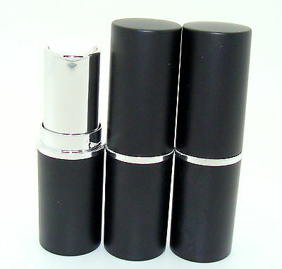 Empty Black Lipstick Tubes/Casings/Containers 12.1 Size