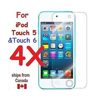 4X ULTRA Clear Screen Protector Cover Guard for iPod Touch 5 & 6 5th/6th Gen.