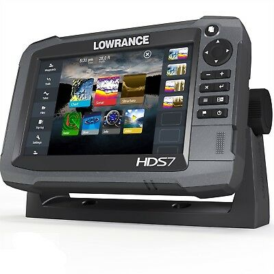 LOWRANCE HDS-7 TOUCH GEN3 - CHIRP Chartplotter / Fishfinder - With transducers