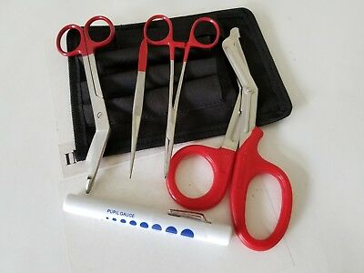 NEW Shears; EMT/Scissors combo pack w/holster -Tactical