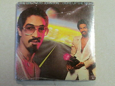 Brothers Johnson Light Up The Night Still Sealed Chubop Mini Lp Bubble Gum Oop