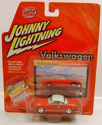 1963 '63 VOLKSWAGEN VW KARMANN GHIA JOHNNY LIGHTNING JL DIECAST RARE