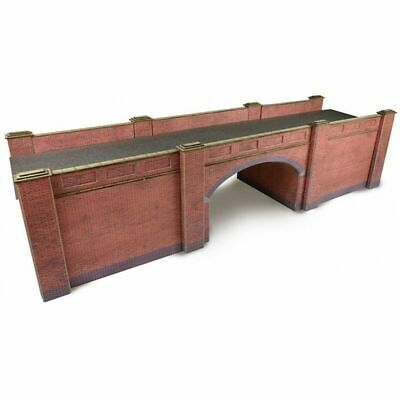 Metcalfe Brick Style Railway Bridge OO Gauge Card Kit PO246