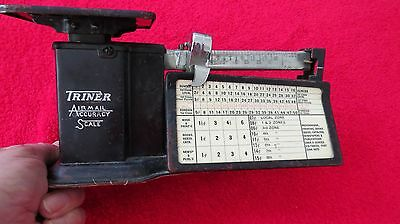 VINTAGE POSTAL SCALE,  TRINER SCALE CO.