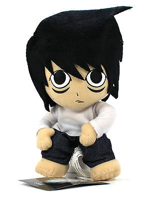 "New Genuine Great Eastern 8"" L Shonen Jump Death Note Stuffed Plush"
