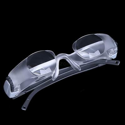 2.1X Magnifier Presbyopic Glasses Adjustable Diopter Watch TV Binocular Loupe