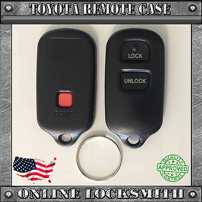 New Replacement Keyless Entry Remote Shell Case Key Fob For Toyota 3 Buttons