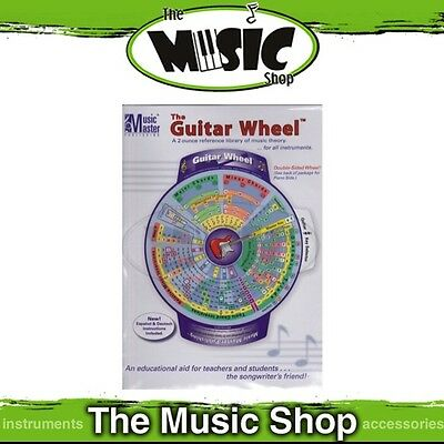 New Music Master: The Guitar Wheel Music Theory Tuition Aid - Chords & Keys