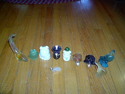 Vintage Avon -  Lot Of 10 - Perfume Bottles/ Decanters - Some Empty - Some Not