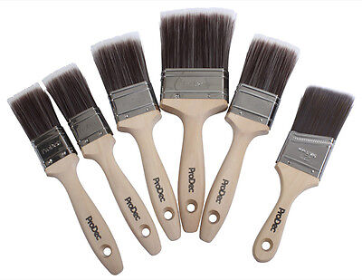 ProDec 6pc Corinthian Brush Set Paint Brushes Premium Trade Quality (PBPT049)