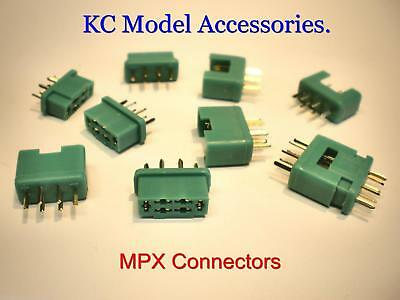 Multiplex MPX Connectors Male & Female Connector x 5 Pairs UK Stock.