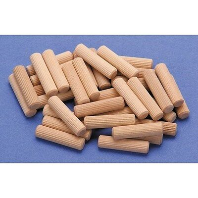 36 Piece 3 Size Fluted Dowel Pins ideal for furniture building cabinets trim etc