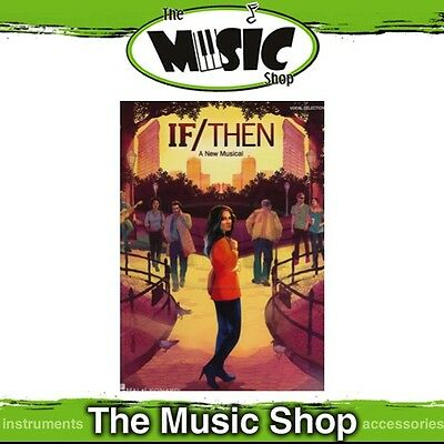 New If/Then a New Musical Vocal Selections Music Book