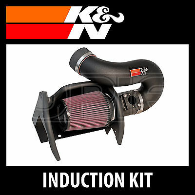K&N 57i Gen 2 Performance Air Induction Kit 57-7000 - K and N High Flow Part