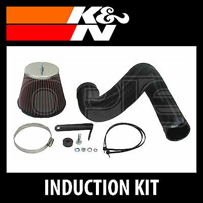 K&N 57i Performance Air Induction Kit 57-0303-1 - K and N High Flow Part