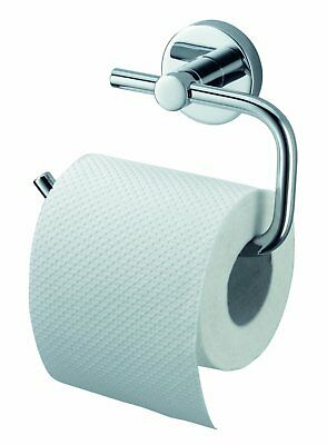 Aqualux Kosmos Toilet Roll Holder - Chrome Bathroom Accessory