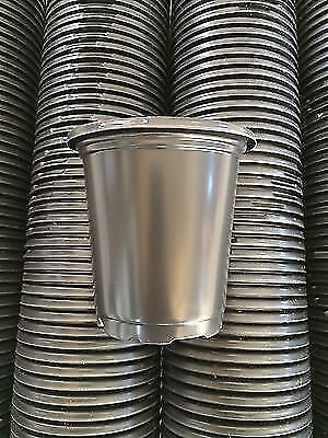 4 INCH PLASTIC FLOWER NURSERY PLANT POTS Expedited Shipping