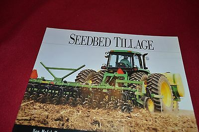 John Deere Brochure Seedbed Tillage Mulch Master Finisher Field Cultivator1992