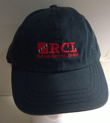 RCI- RAILROAD CONTROLS LIMITED- Railroad Cap / Hat, NEW, BLACK, ONE SZ. FITS ALL
