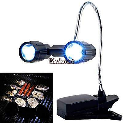 Chef Buddy Adjustable LED BBQ Grill Light With 6 Super Bright LEDs 2014