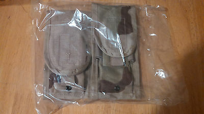 2 NEW US MILITARY ARMY MOLLE II M-4 Double Mag Ammo Pouches Airsoft Magazine