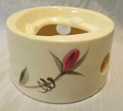 Vintage Japan China SUMMER TIME 7114 Hand Painted Roses Votive Food Warmer RARE
