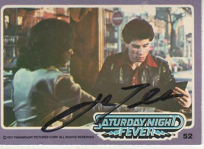 Cards & Papers John Travolta Signed Autographed Trading Card Saturday Night Fever 57 Jsa U99017 Autographs-original