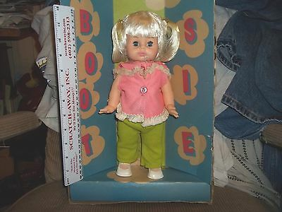 "Vintage 1969? 11.5"" Horsman Bootsie  Doll No. 2300 Sleeping Eyes Moving Arms"