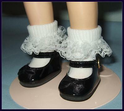 """WHITE Patent Mary Jane Doll SHOES fit 12/"""" BITTY BETHANY  U.S.SHIPS FREE"""