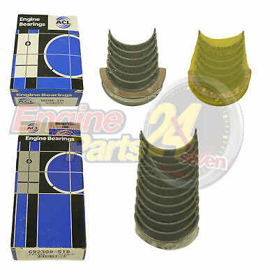 Holden 202 Main & Conrod Bearings Acl 7M2398 6B2380 In Std 010 020 You Choose