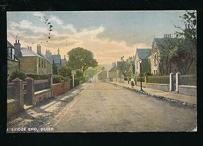 Scotland Berwickshire DUNS Bridge End 1904 PPC Faults