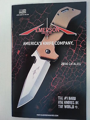 Emerson Knives Knife 2014 Catalog / New / 22 Pages