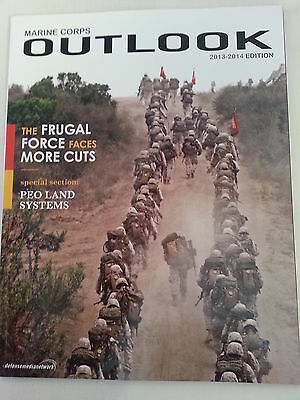 Marine Corps Outlook Magazine / 2013 2014 Edition / 40 Pages / NEW