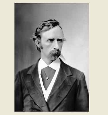 1869 General George Armstrong Custer PHOTO Indian Wars Battle of Little Bighorn