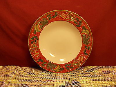"""Gibson Dinnerware Boughs Of Holly Pattern Soup Bowl 8 7/8"""""""