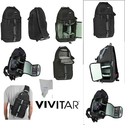 Travel Camera Bag Case Backpack for DSLR SLR Canon EOS Rebel Nikon Sony Pentax