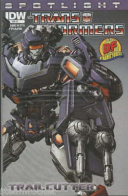 TRANSFORMERS SPOTLIGHT - TRAILCUTTER - One-Shot - DF Dynamic Forces Variant
