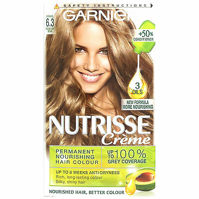 Garnier Nutrisse 6.3 Caramel Golden Light Brown