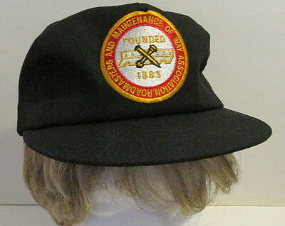 ROADMASTERS & MAINTANCE OF WAY Association  Cap Hat -ONE SIZE FITS ALL-Railroad