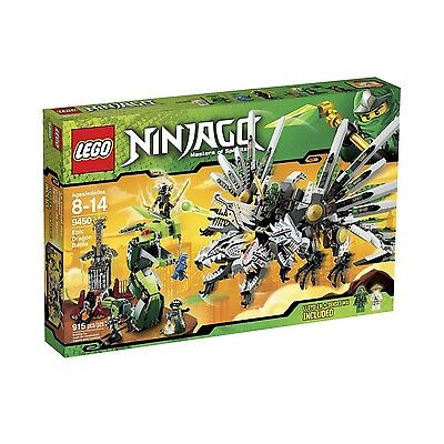 LEGO NINJAGO EPIC DRAGON BATTLE (9450) - BRAND NEW IN FACTORY SEALED BOX
