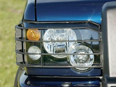 Land Rover Discovery 2 2003-2004 Front Light Guard Set Pair Stc53193