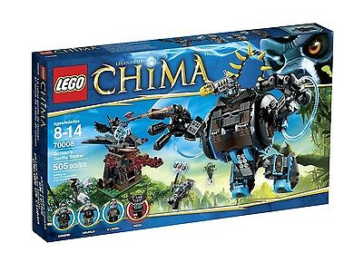 LEGO CHIMA GORZAN'S GORILLA STRIKER (70008) - BRAND NEW IN FACTORY SEALED BOX