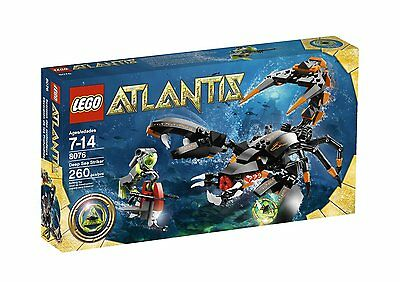 LEGO ATLANTIS DEEP SEA STRIKER (8076) - RETIRED - NEW IN FACTORY SEALED BOX