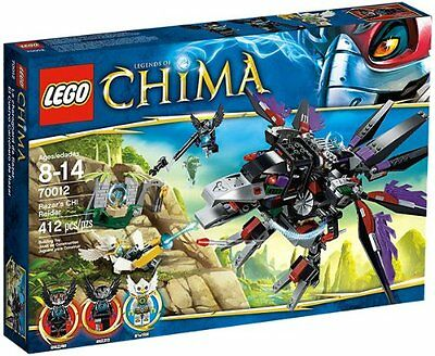 LEGO CHIMA RAZAR'S CHI RAIDER (70012) - RETIRED - NEW IN FACTORY SEALED BOX