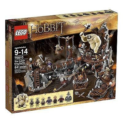 LEGO HOBBIT GOBLIN KING BATTLE (79010) - RETIRED - NEW IN FACTORY SEALED BOX