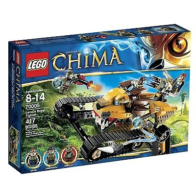 LEGO CHIMA LAVAL'S ROYAL FIGHTER (70005) - RETIRED - BRAND NEW IN SEALED BOX