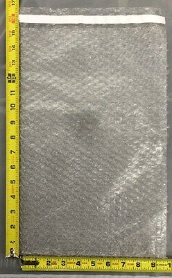 25 9.5x15.5 Clear Self-Sealing Bubble Out Pouches / Bubble Bags 9 1/2 x 15 1/2